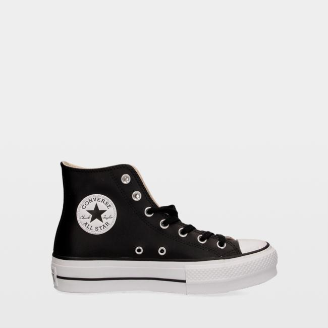 Zapatillas Converse Chuck Taylor All Star Lift Clean Leather High Top