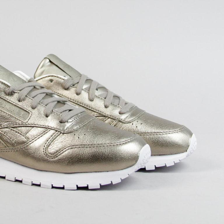 d1879b23a Ulanka    Zapatillas Reebok Classic Leather Melted Metals Silver