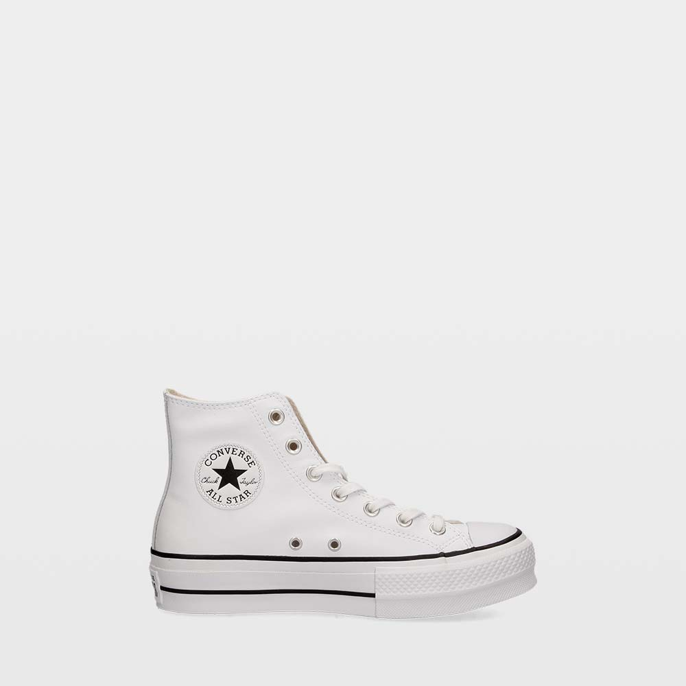 طالب علم مسند جدول Zapatillas Converse Chuck Taylor All Star Lift Clean Leather High Top Consultoriaorigenydestino Com